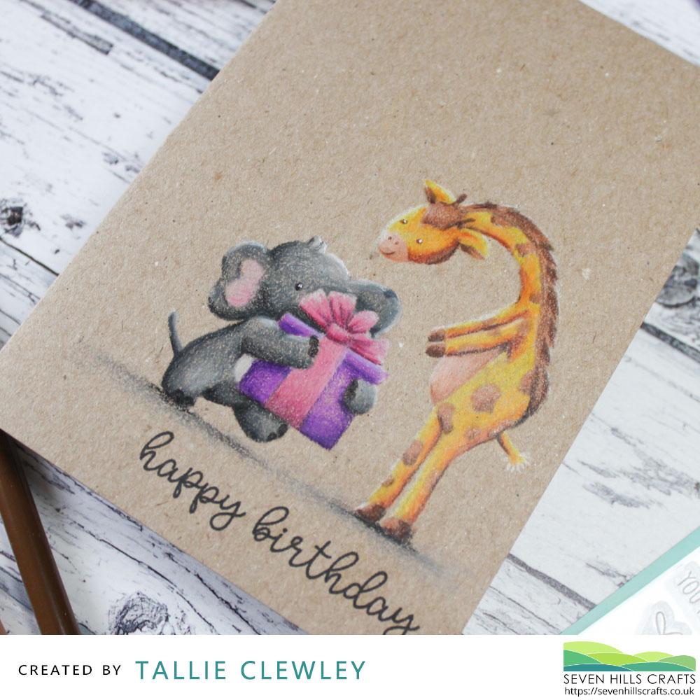 Handmade Card - Birthday Wishes - Avery Elle A Head Above
